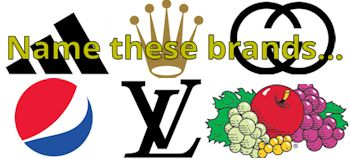 Name these brands from their logos