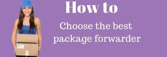 How to choose the best package forwarder