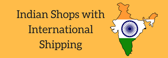 10 shopping sites from India with international delivery