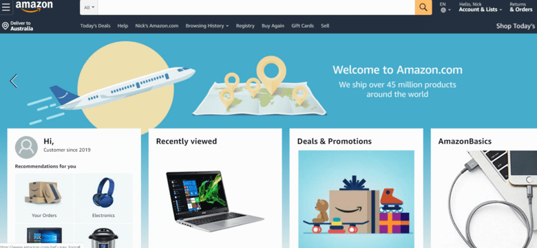 AmazonGlobal now ships free to India and Singapore