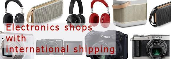 Best Asian electronics shops with worldwide Shipping