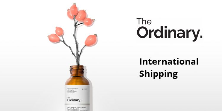 The Ordinary international shipping
