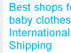 Buy baby clothes