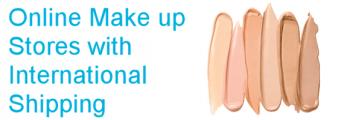 Makeup shops international shipping