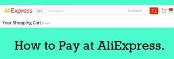 How to pay at AliExpress