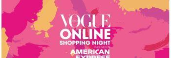 Vogue Online Shopping Night